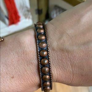 Jewelry - Copper cuff bracelet